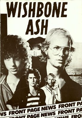 [1977 Front Page News Tour Book cover art]