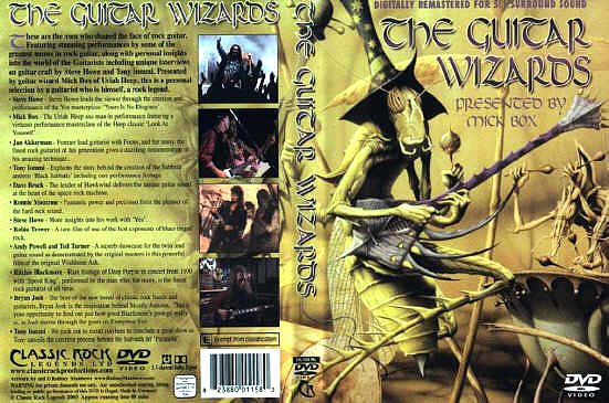 [The Guitar Wizards - Various Artists DVD cover art]