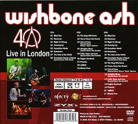 [40th Anniversary - Live in London LP cover art 2]