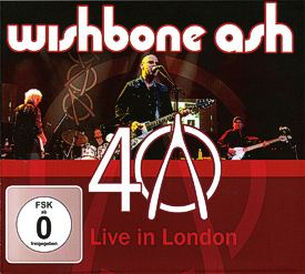 [40th Anniversary - Live in London LP cover art 1]
