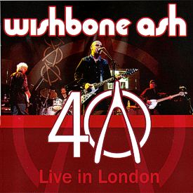 [40th Anniversary - Live in London 2CD cover art 1]