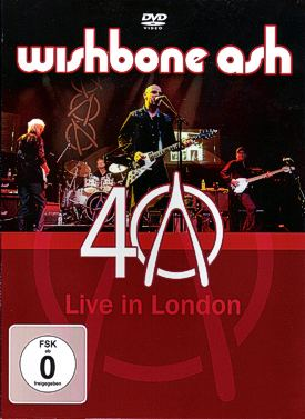 [40th Anniversary - Live in London DVD cover art]