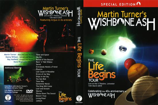 [MTWA - The Life Begins Tour DVD cover art]