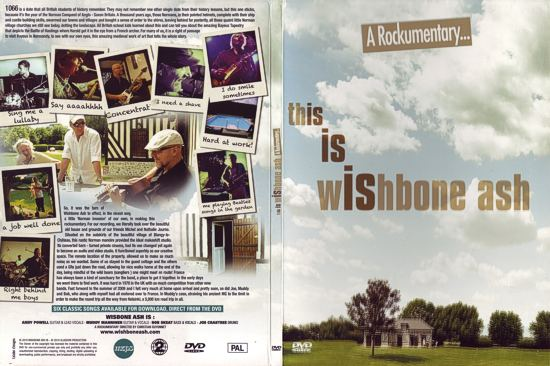 [This is Wishbone Ash - A Rockumentary DVD cover art]