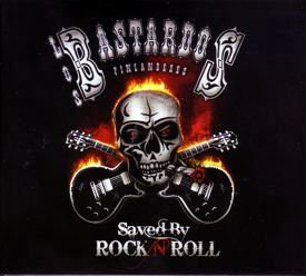 [Los Bastardos Finlandeses - Saved by Rock'n'Roll  - Cover art]