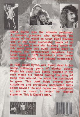 [David Byron book, back]