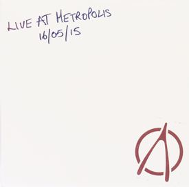 [Live at Metropolis, cover art 1]
