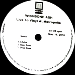 [Live to Vinyl at Metropol, acetate cover art 4]
