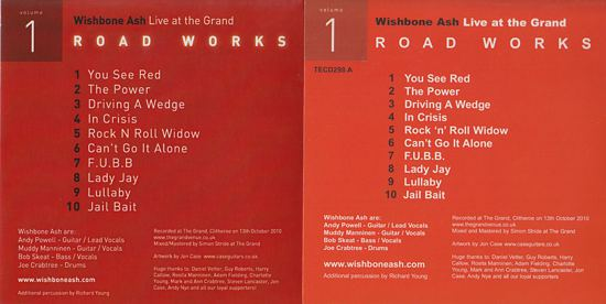 [Road Works CDS and Box Set, comparisons 1b]