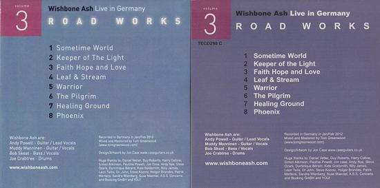 [Road Works CDS and Box Set, comparisons 3b]