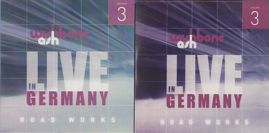 [Road Works CDS and Box Set, comparisons 3a]