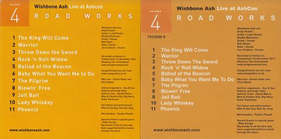 [Road Works CDS and Box Set, comparisons 4b]