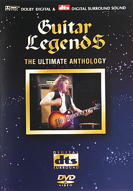 [Guitar Legends - Various Artists DVD cover art]