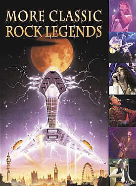 [More Classic Rock Legend - Various Artists DVD cover art]