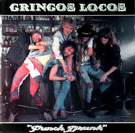 [Gringos Locos - Punch Drunk cover art, US]