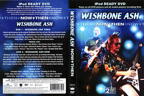 [Now+Then DVD cover art]