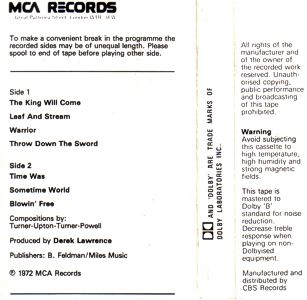 [UK cassette MCLC 1787 cover art, back]