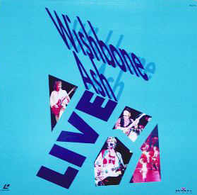 [Wishbone Ash Live - 20th anniversary, Bristol Laser Disc cover art, front]