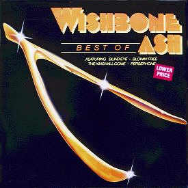 [The Best Of Wishbone Ash - UK compilation cover art, front]